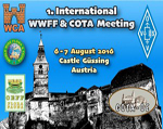 International WWFF & COTA Meeting 2016