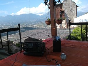 ZA/Z35M/P set up on Petrella fortress